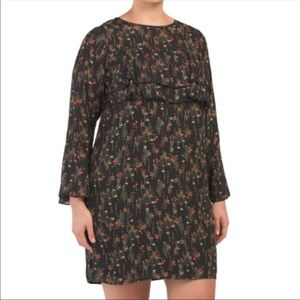 Laundry Floral Popover Dress-NWT